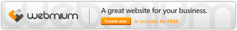 Webmium - Create with confidence / A great website for your business, create one in minutes for free