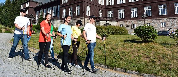 1.ročník Nordic Walking tour Karlova Studánka