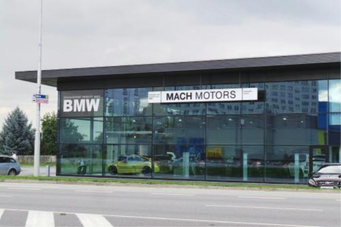 BMW od MACH MOTORS