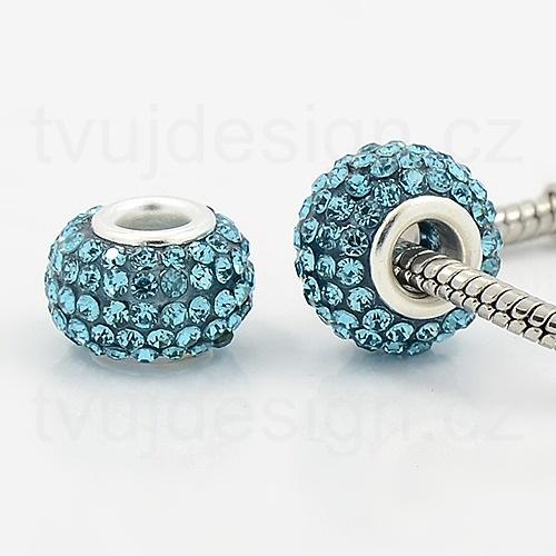 Krystalkové a kamínkové velkoprůvlekové korálky