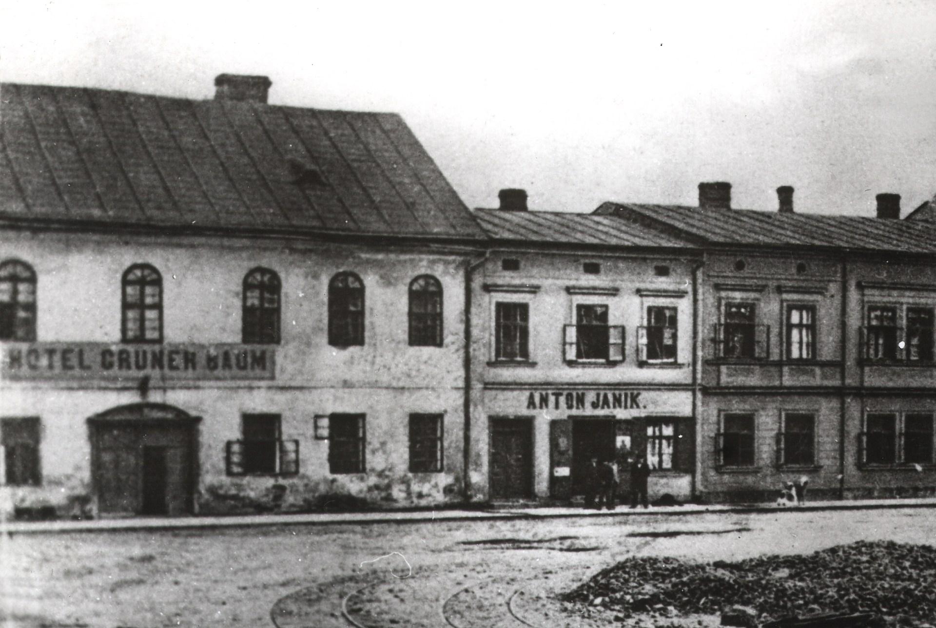 Původní hotel Grüner Baum