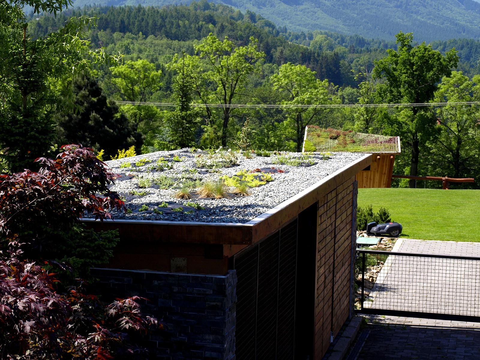 Zelená střecha pro Váš dům