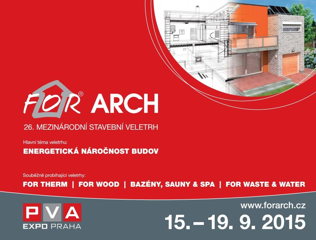 Pozvánka na veletrh FOR Arch v Praze - Lipbled