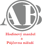 Hodinový manžel a půjčovna nářadí - logo