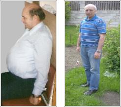 Josef Kolek - výsledek zdravého hubnutí