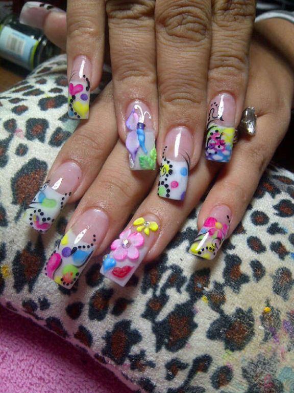 Imagenes de uñas de resina en alto relieve? - Imagui