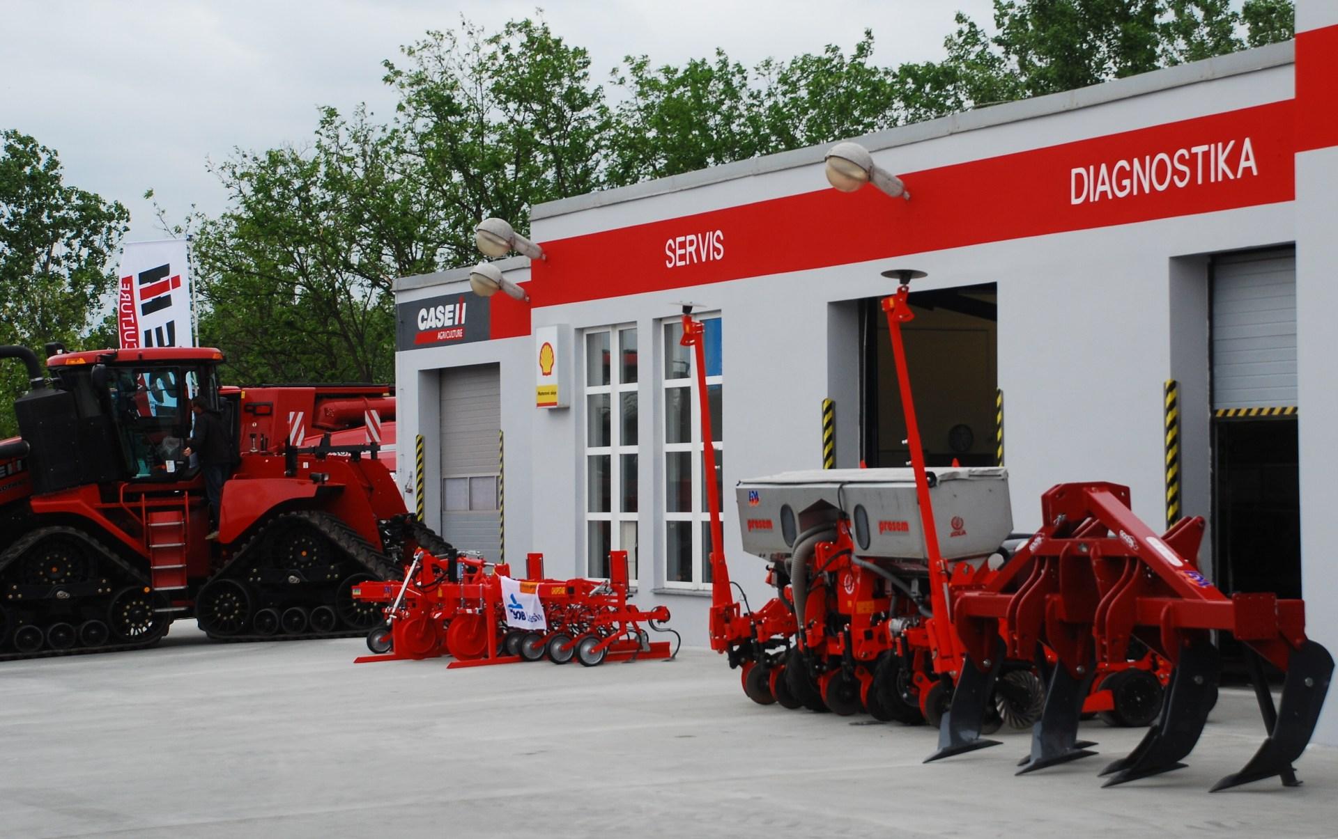 Servis zemědělských strojů HM Hodonín
