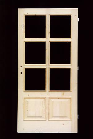 Interiérové dveře prosklené