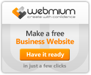 Webmium - Create with confidence / Make a free Business Website, Have it ready in a few clicks