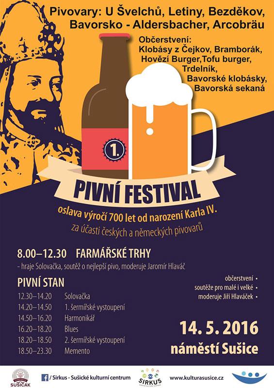 pivní festival Sušice