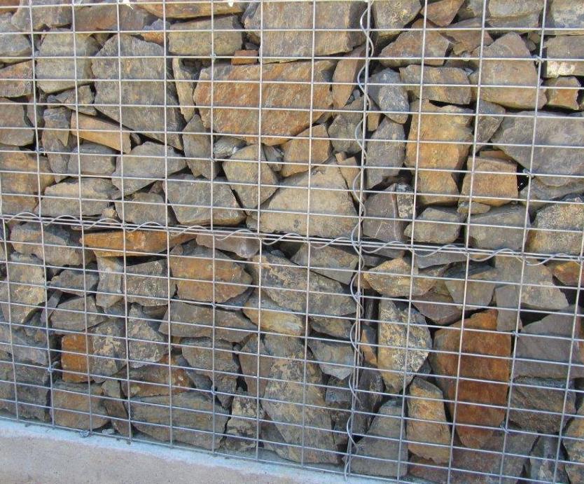 Gabiony - opěrné zdi