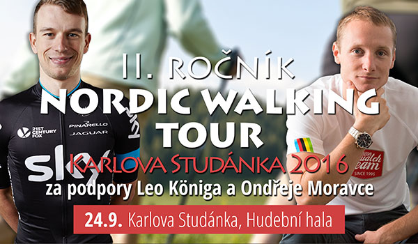 Nordic Walking Tour Karlova Studánka 2016