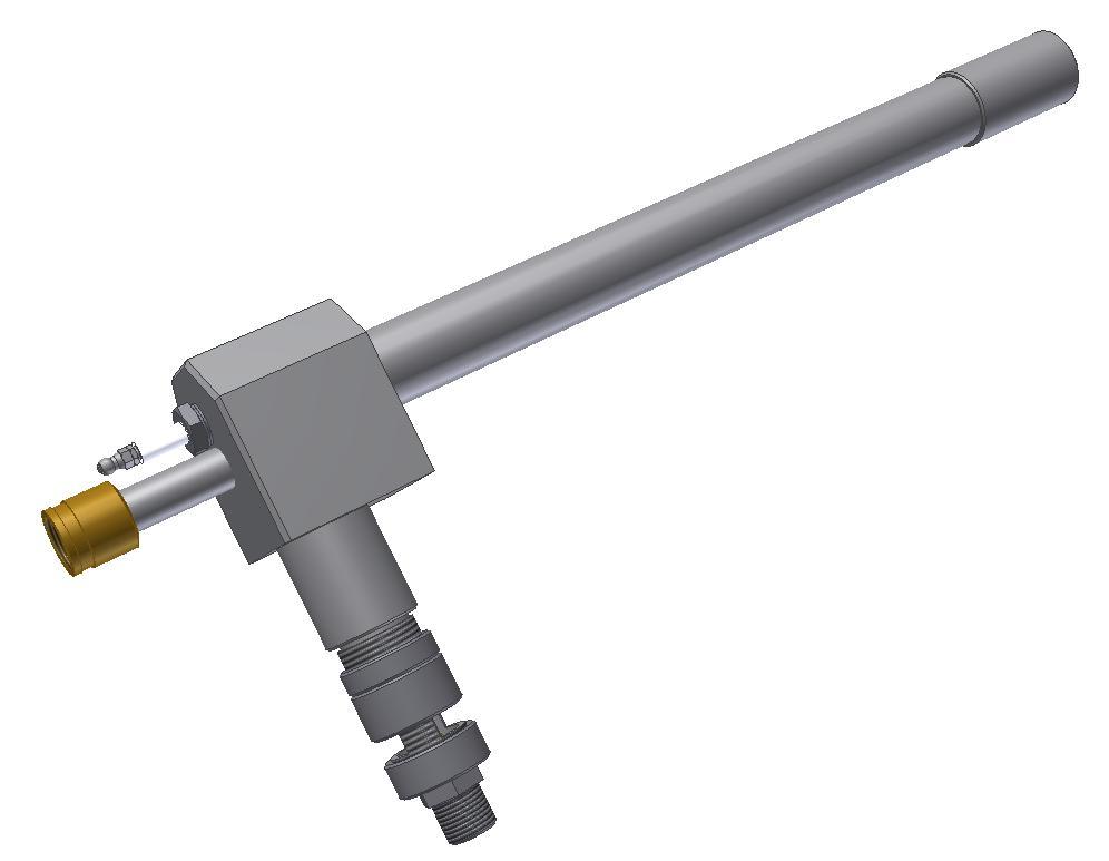 HPI-1E UV 40 - Hořák pilotní injektorový