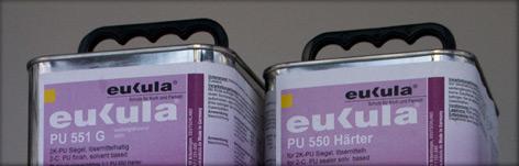 polyuretanový dvousložkový syntetický uzavírací nátěr pro nejvyšší zátěž