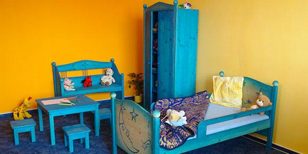 Dětský dřevěný nábytek
