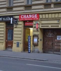 Směnárna - Change, Sokolská 1795/46, Praha 2 - Vinohrady