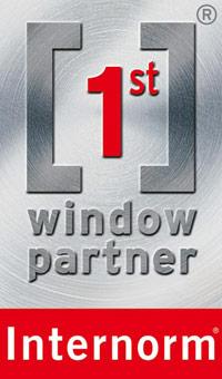 logo 1st window partner Internorm