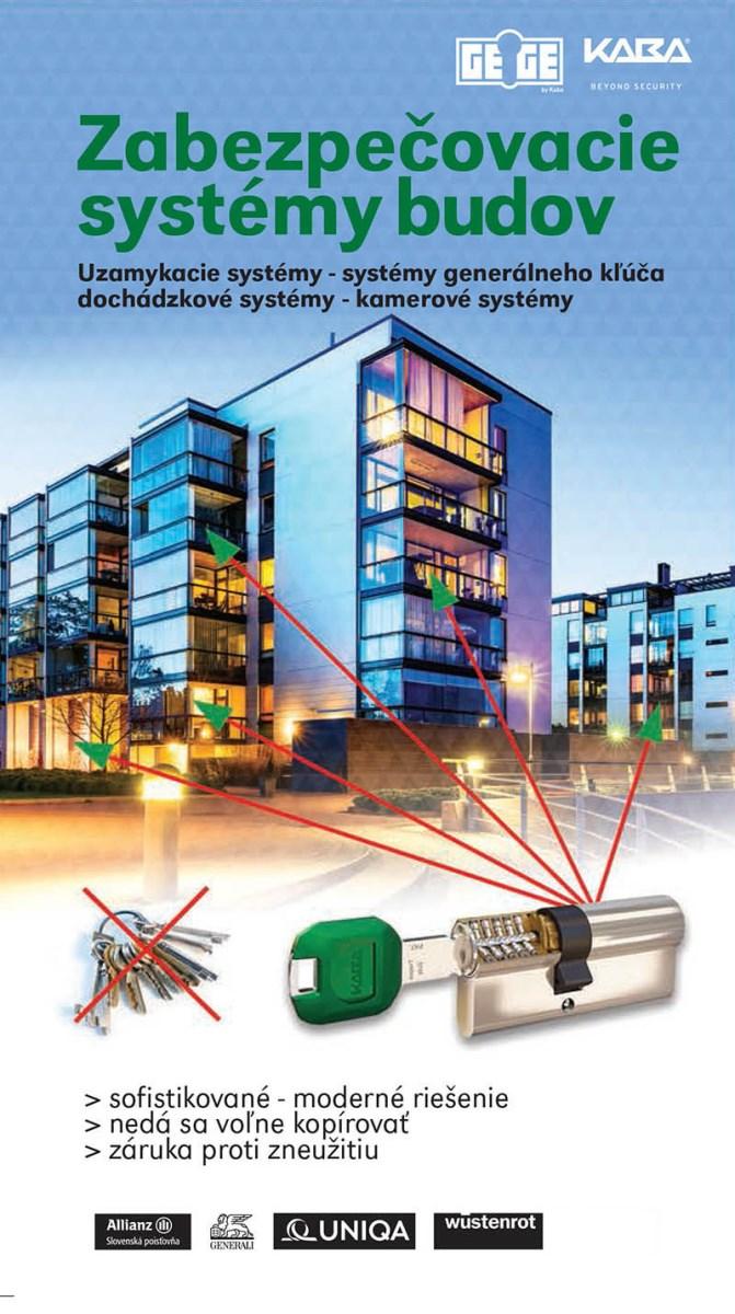 zabezpečovacie systémy budov