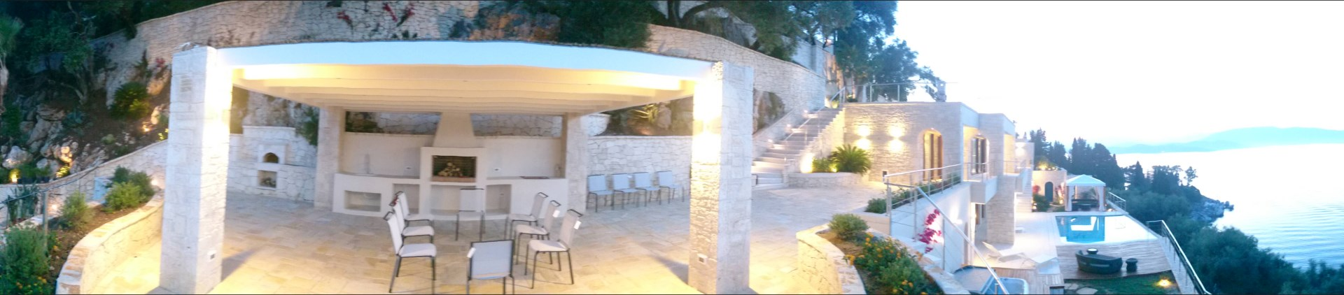 vila na Korfu