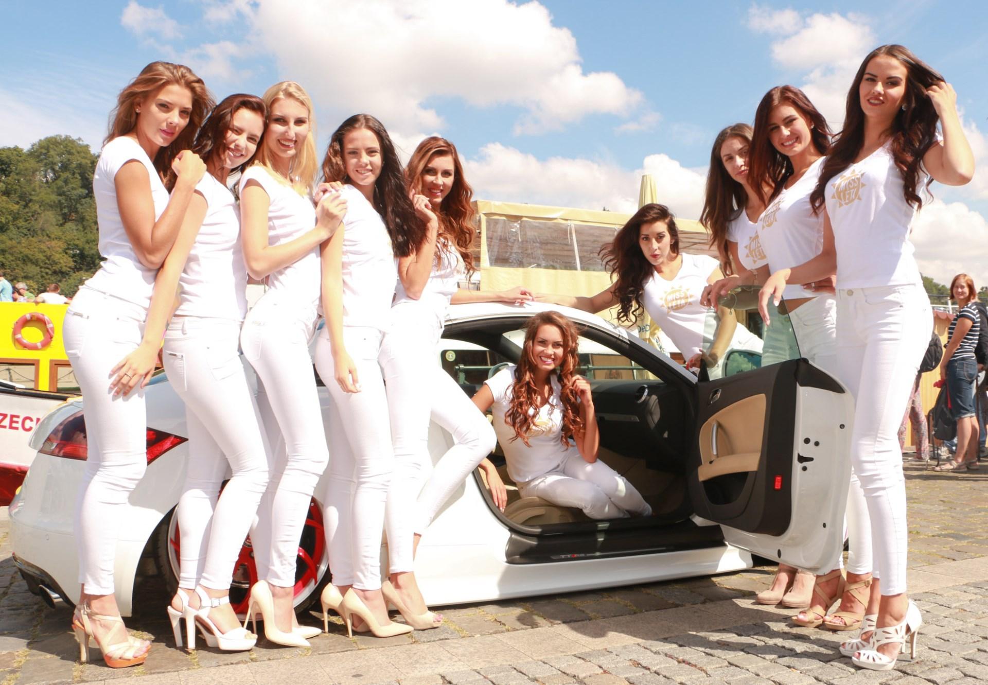 Miss Prague Car Festival
