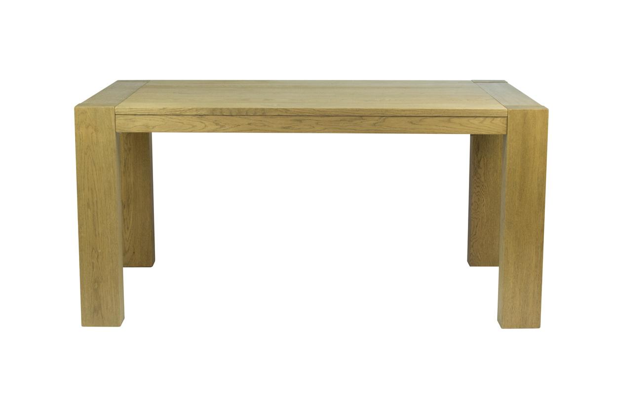 Masivní dubový jídelní stůl 160x100cm + rozklad