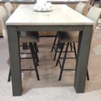 Masivní barový stůl 140x90cm dub