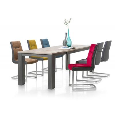 Masivní rozkládací jídelní stůl 140x90 + 60cm