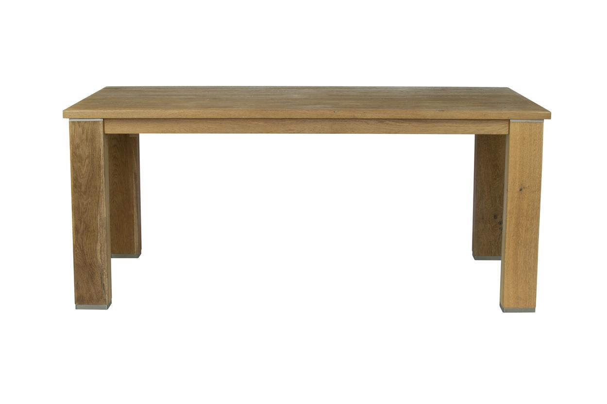 Masivní rozkládací jídelní stůl 190x100+50cm