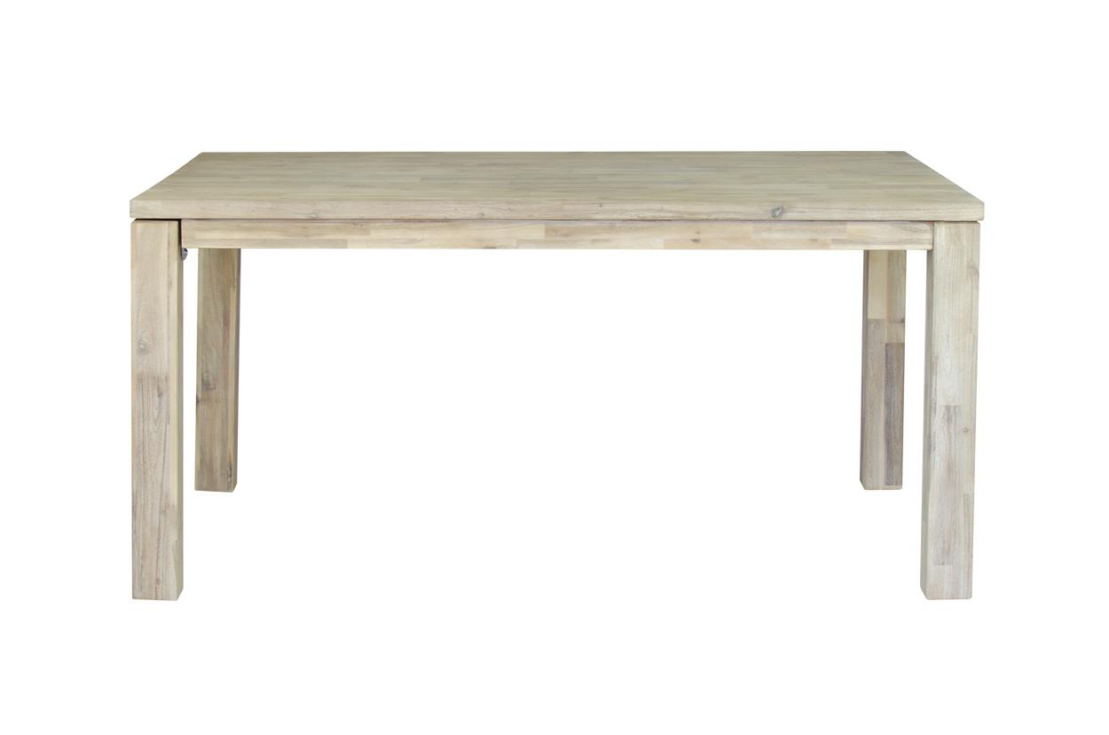 Masivní jídelní stůl s rozkladem 160x100x77 cm + rozklad