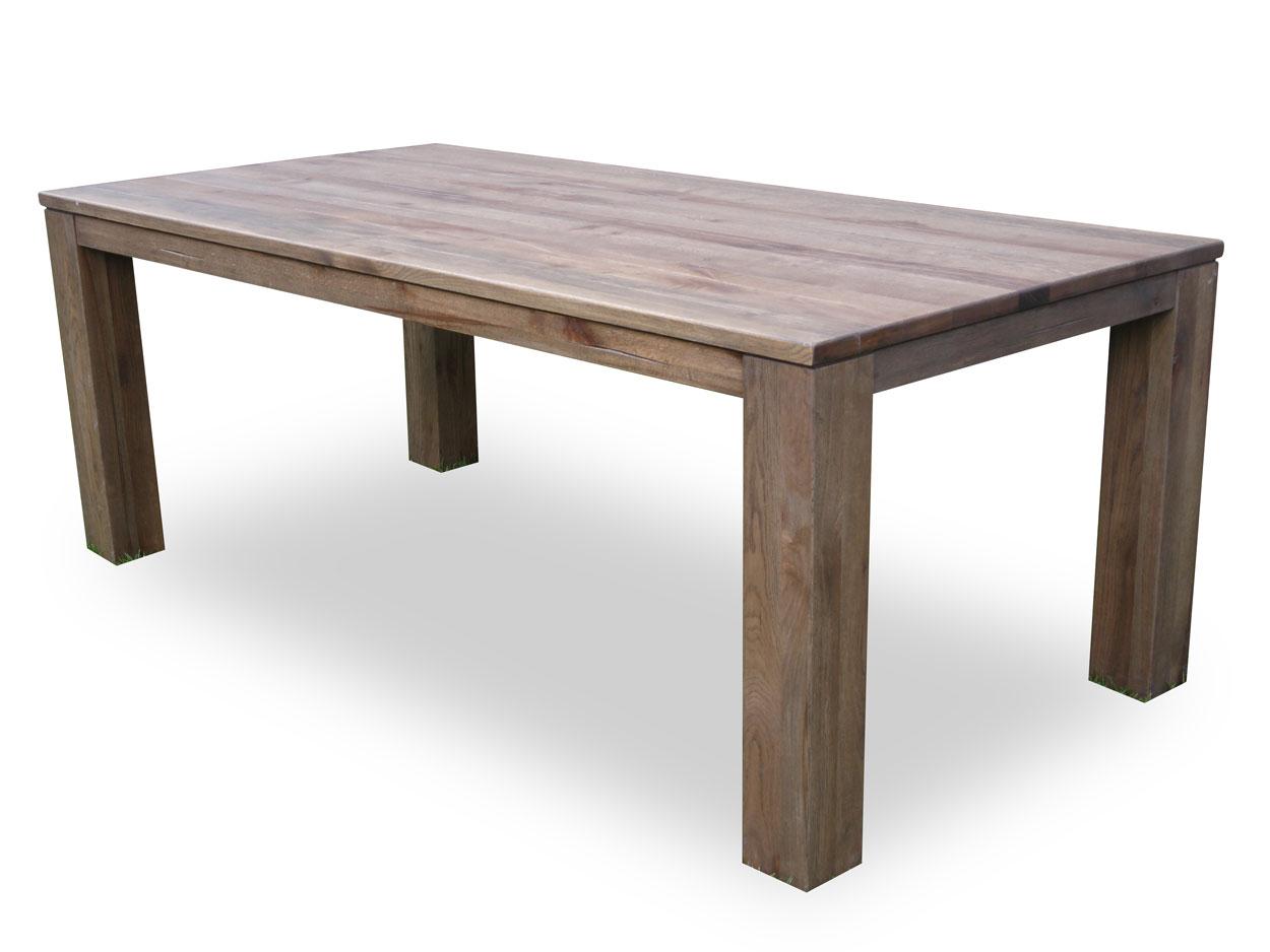 Nejlepší masivní jídelní stůl z dubu o rozměru 200x100+60 cm