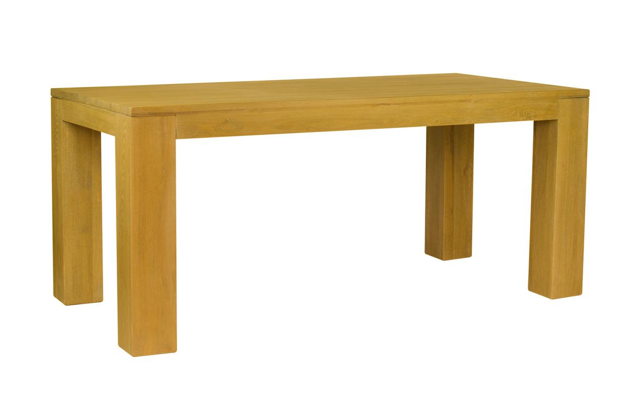 Masivní dubový jídelní stůl 180x90cm