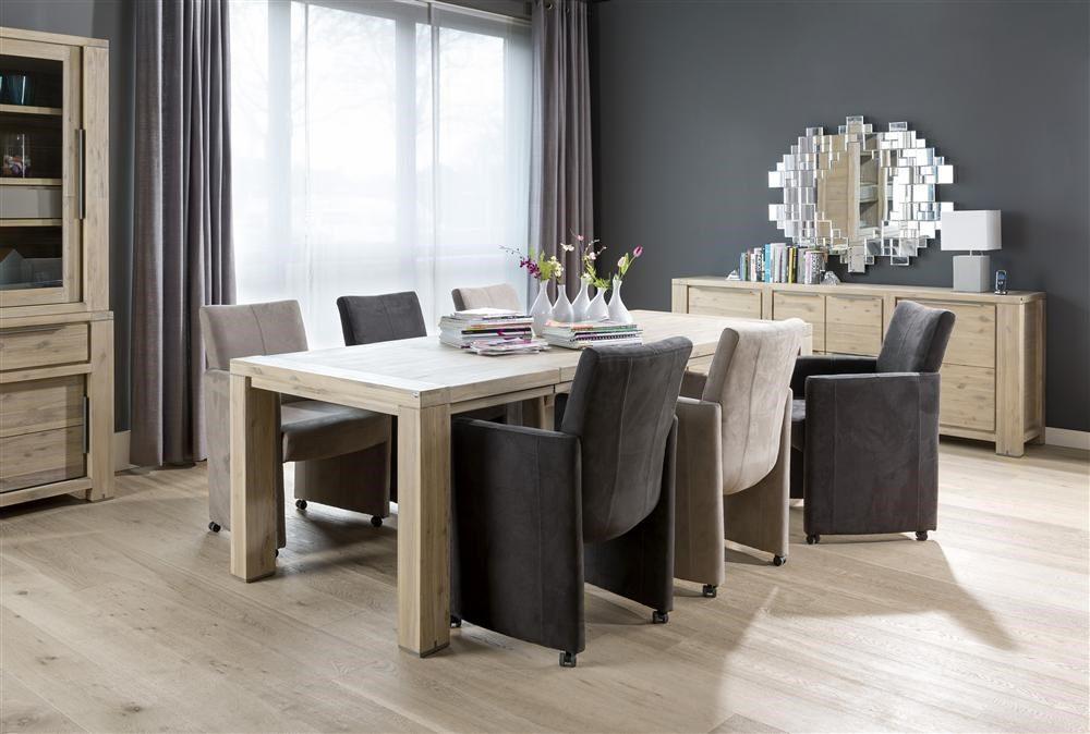 Nejlepší masivní rozkládací jídelní stůl 160x100 + 60 cm