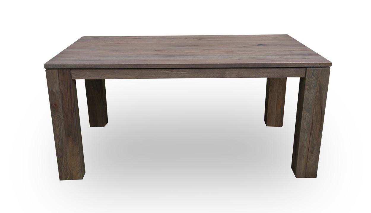 Masivní dubový jídelní stůl s rozkladem 200x100+60cm