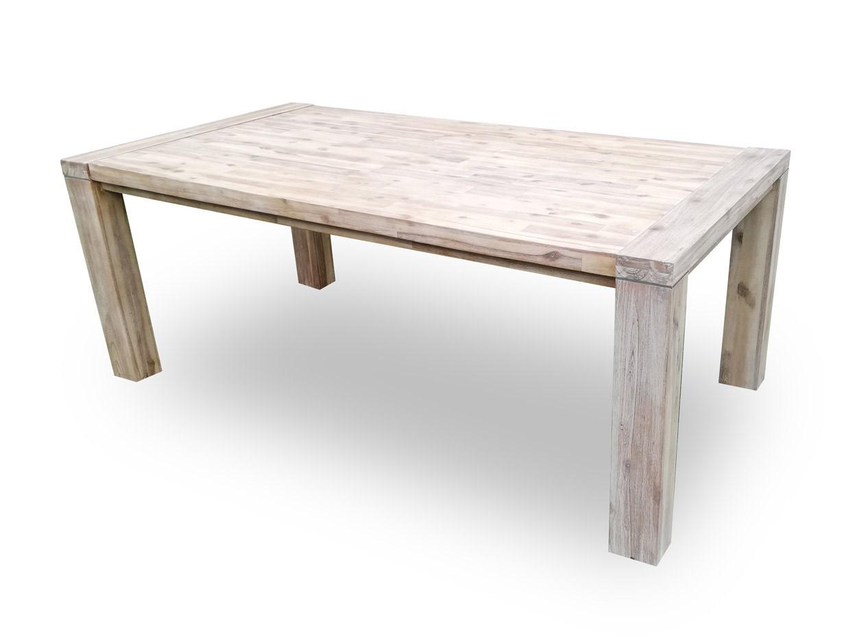Masivní jídelní stůl 190x100+60cm