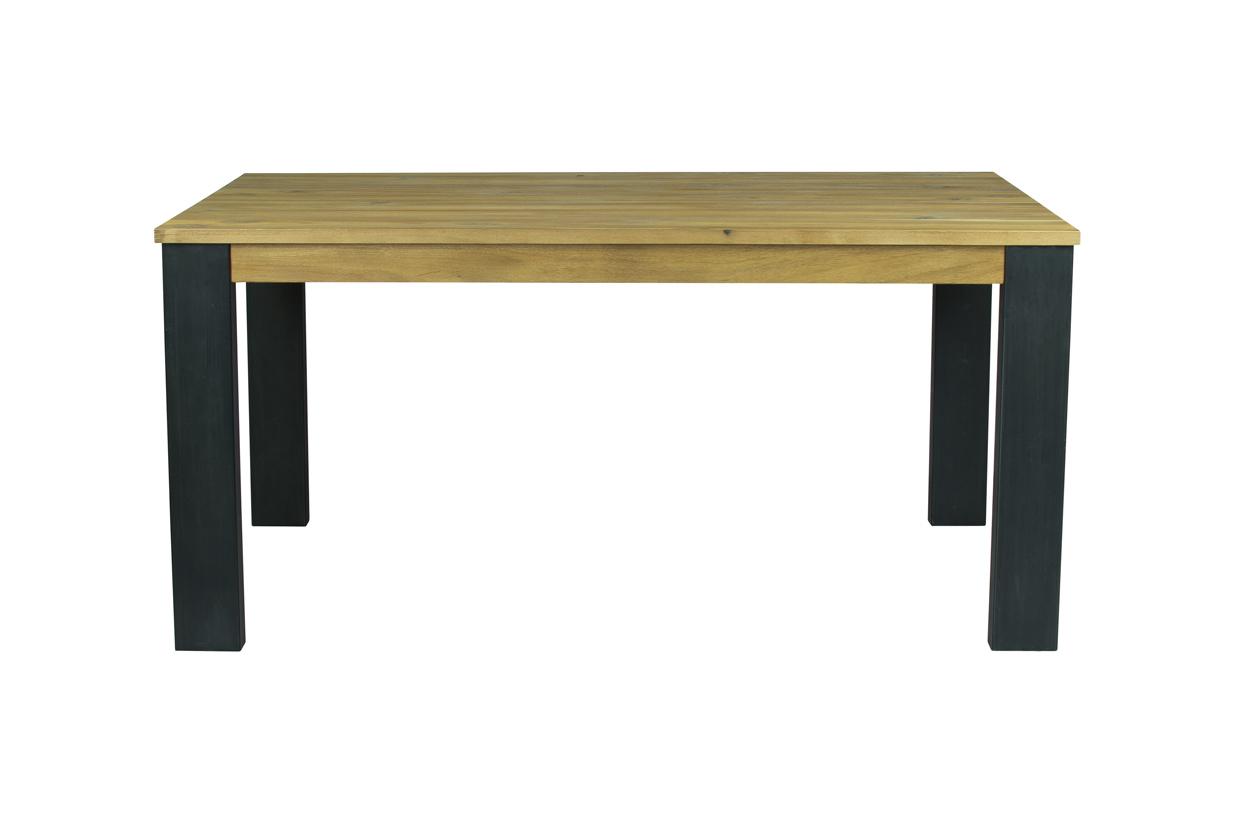 Nejlepší rozkládací masivní jídelní stůl v přírodním odstínu 160x100+50cm