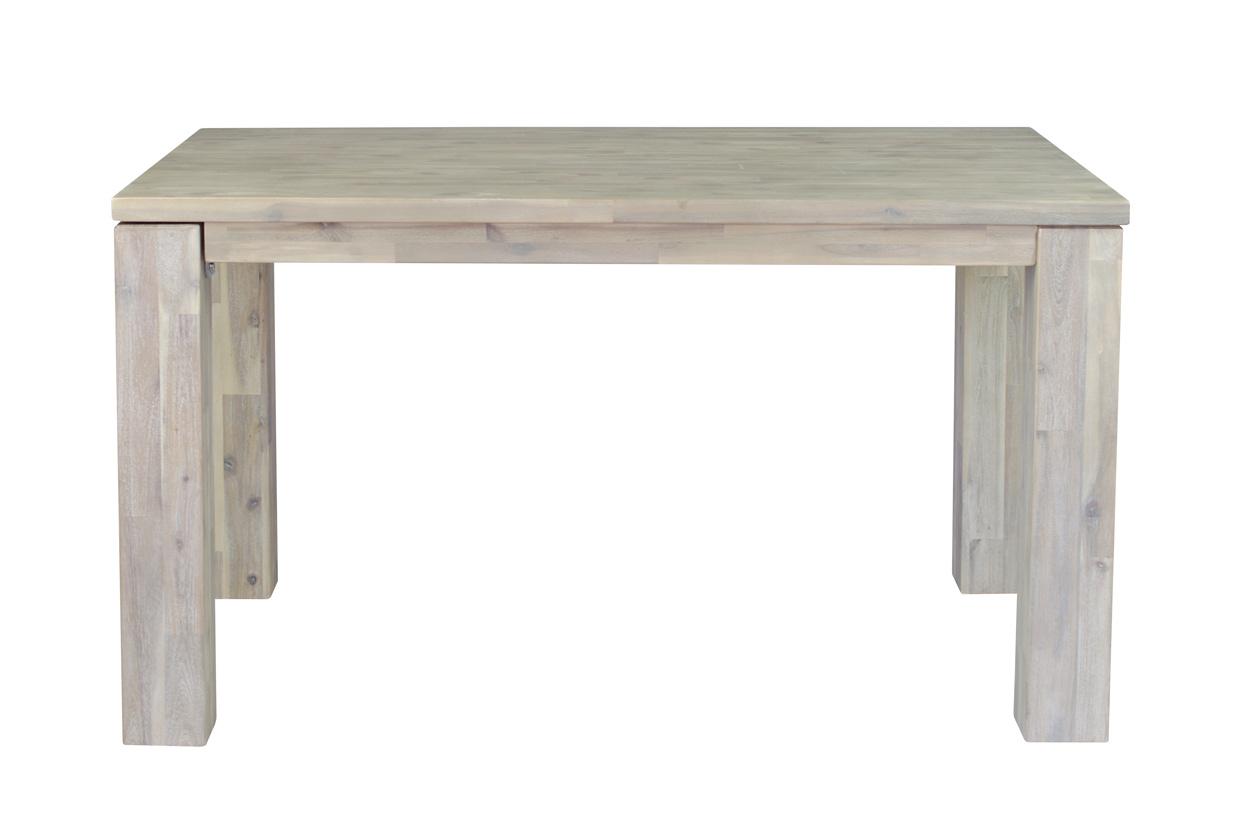 Masivní rozkládací jídelní stůl 140x90x77+60cm