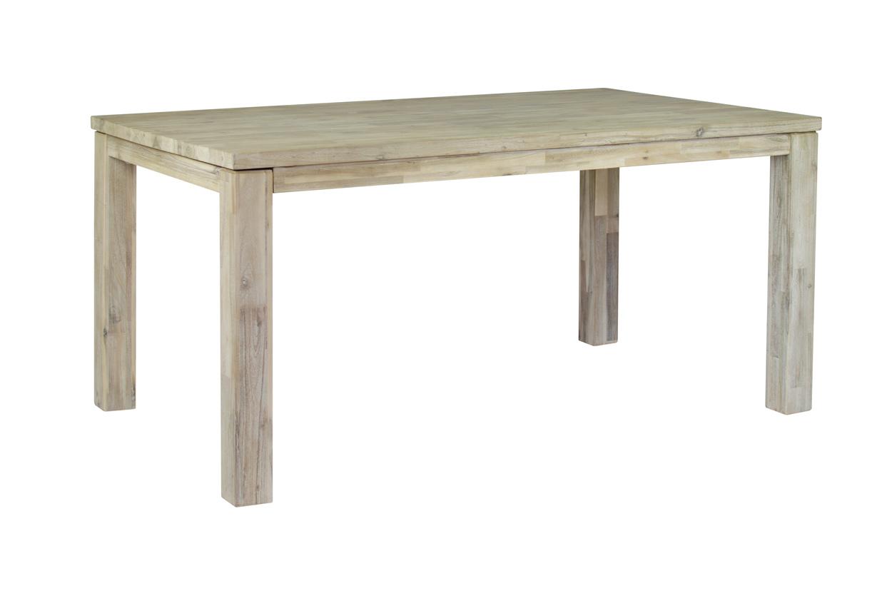 Masivní rozkládací jídelní stůl 200x100+60cm