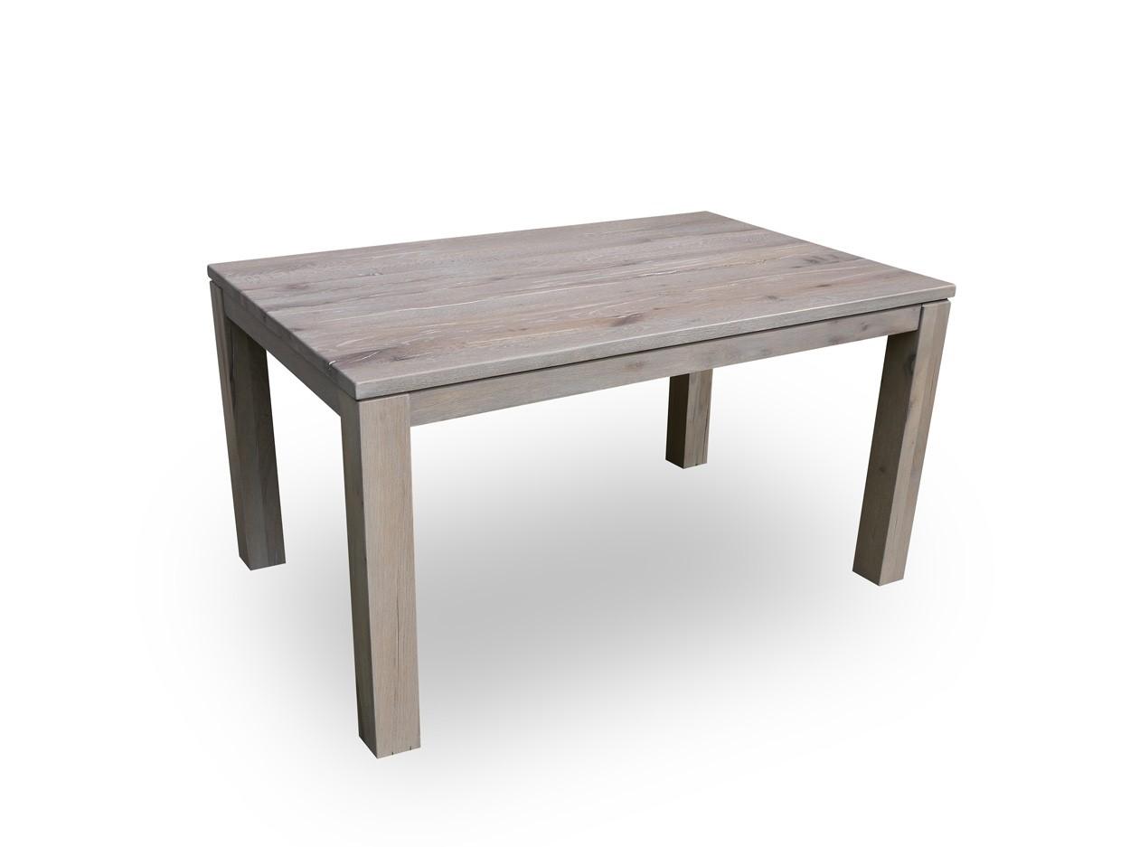 Masivní dubový jídelní stůl 140cm + rozklad