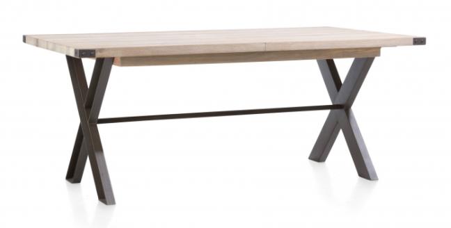 Nejlepší masivní industriální jídelní stůl 160x100 cm