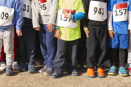 Dětští závodníci