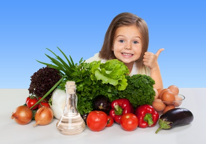 Zelenina v dětské stravě