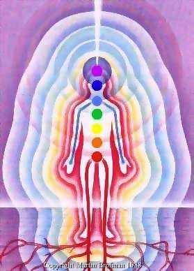 """Mikro - Čakry a jejich emocionálně a funkčně korespondující elektromagentický vrstvy <3 Makro - Čakry = Planety a Jejich """"7 Nebí"""" <3 Čakry korespondujou s Tónama- notama na notový stupnici, kde každá má specifickou vibraci odpovídající určitýmu stavu vědomí, vnímání a prožití reality"""