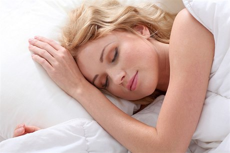 What position is ideal for a good night's sleep?