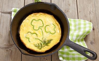 Recepty z vajíček | Recept – zdravější vajíčková omeleta