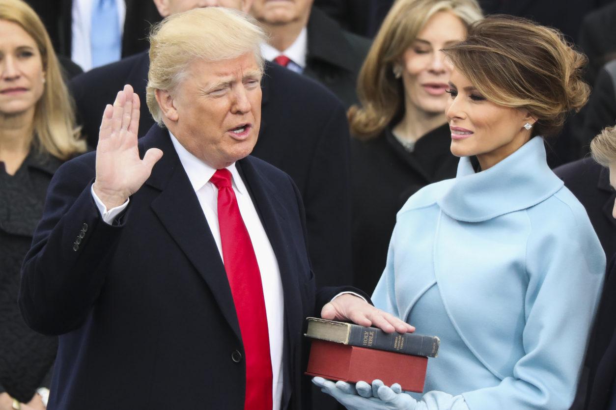 """Inaugurační projev: ..""""Tento okamžik je i váš okamžik,"""" řekl Donald Trump v inaugračním projevu ve Washingtonu"""