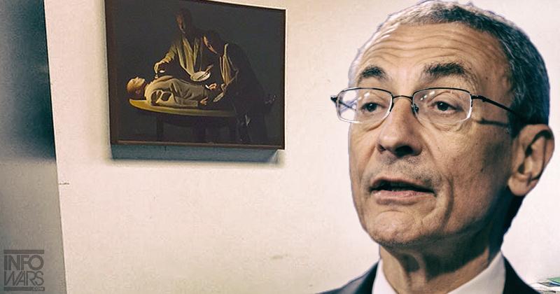 Šéf kampaně Clintonové si vyzdobil dům kanibalistickými obrázky John Podesta a majitel pizzérie Comet Pingpong Alefantis jsou tak podle všeho zapleteni do obchodu s nezletilými dětmi,