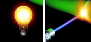 žárovka | soustředění