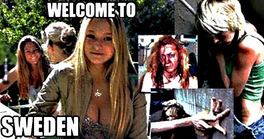 Čtyřicet let poté, co se švédský parlament jednomyslně rozhodl změnit dříve homogenní Švédsko na multikulturní zemi, násilná kriminalita se zvýšila o 300% a znásilňování o 700%. Švédsko je nyní dvojkou na seznamu zemí, ve znásilnění je překonalo pouze Lesotho v jižní Africe.