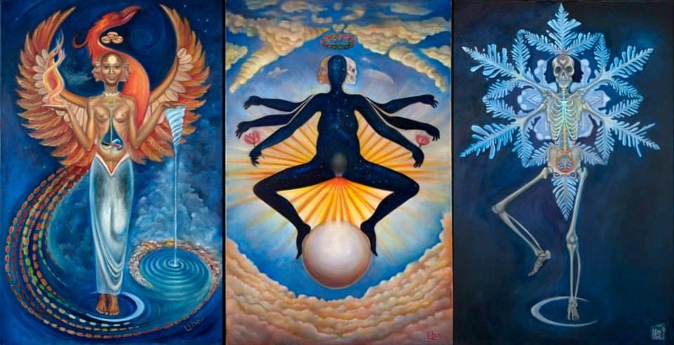 Tři aspekty Velký Mamy Dává život -- Udržuje život -- Bere život
