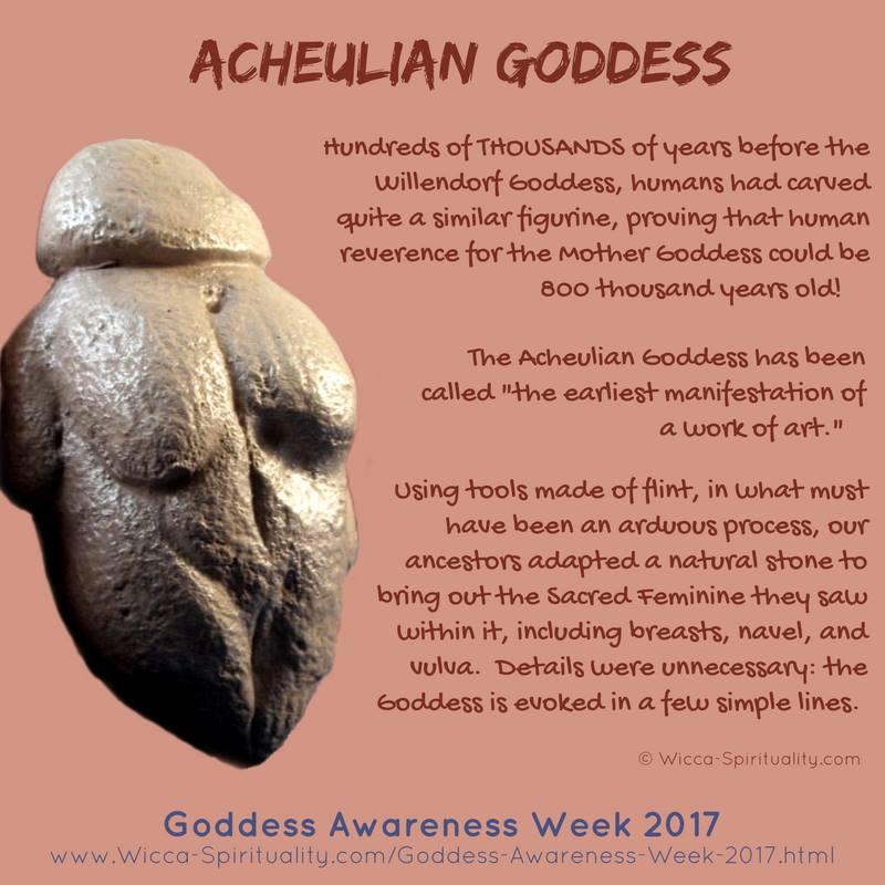 Acheulianská Bohyně - kolem 800 tisíc let stará...